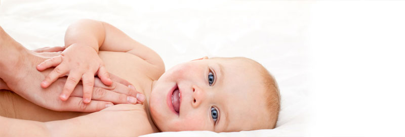 חשיבות מגע בקרב תינוקות