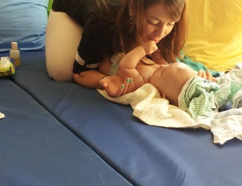 עיסוי תינוקות מודרך